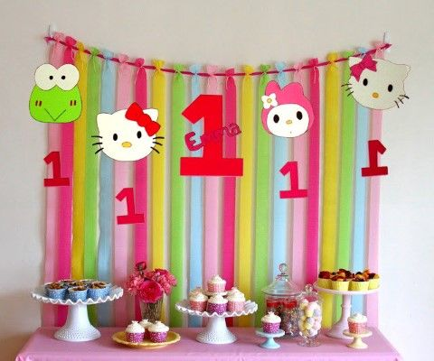 Hello Kitty Party Ideas Tend To Be Very Interesting And Enjoyable For Not Only The Kids But Adults As Well Some Considerations This Kind Of