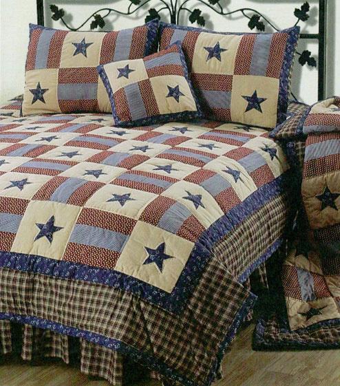 Americana Bedding Primitive Bedding Pinterest