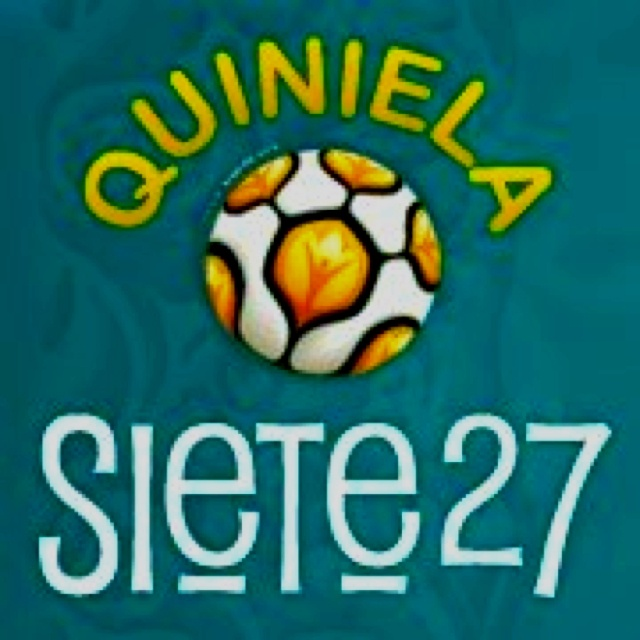 Join Us!!! and show how much you know about soccer http://quiniela.siete27.com Unete y demuestra cuanto sabes de futbol ;)