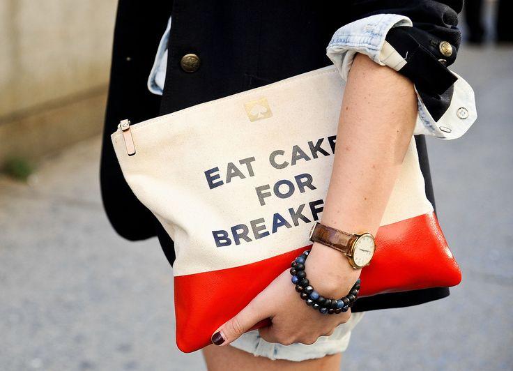 New York Fashion Week Street Style #ss14 http://somethingintheway5.blogspot.com.es