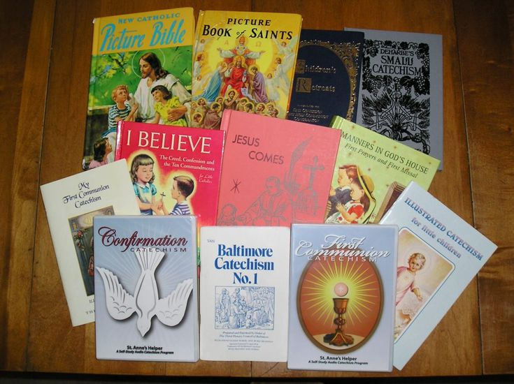 Great Catholic Books for your home: Bible, Missals, saints, catechisms, story books for children.