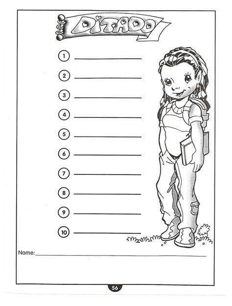 Para os professores que trabalham com a alfabetização, hoje trouxe75folhas de ditados e autoditados para imprimir. São atividades educativas para alfabetização prontinhas para imprimir e trabalhar o ditado e o autoditado com seus alunos. Há tamb...