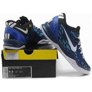 Nike Kobe 8 System Basketball Shoe Snake BlueBlack/White, cheap Nike Zoom Kobe  VIII, If you want to look Nike Kobe 8 System Basketball Shoe Snake ...