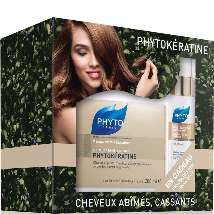 Επανόρθωση και αναζωογόνηση των ταλαιπωρημένων και κατεστραμμένων σου μαλλιών! Με τη μάσκα ολικής επανόρθωσης PHYTOKÉRATINE, σου κάνουμε ΔΩΡΟ το θερμο-ενεργό σπρέι επανόρθωσης PHYTOKÉRATINE! Τα προϊόντα PHYTOKÉRATINE, με τη δύναμη της φυτικής κερατίνης, αποκαθιστούν τη δομή, τη δύναμη και τη λάμψη των κατεστραμμένων μαλλιών. Αναζωογονημένα, τα μαλλιά σου είναι πιο ανθεκτικά, ελαστικά και μεταξένια από ποτέ! Ανακάλυψε το πακέτο ΔΩΡΟΥ της PHYTO Paris σε επιλεγμένα Φαρμακεία σε όλη την Ελλάδα.