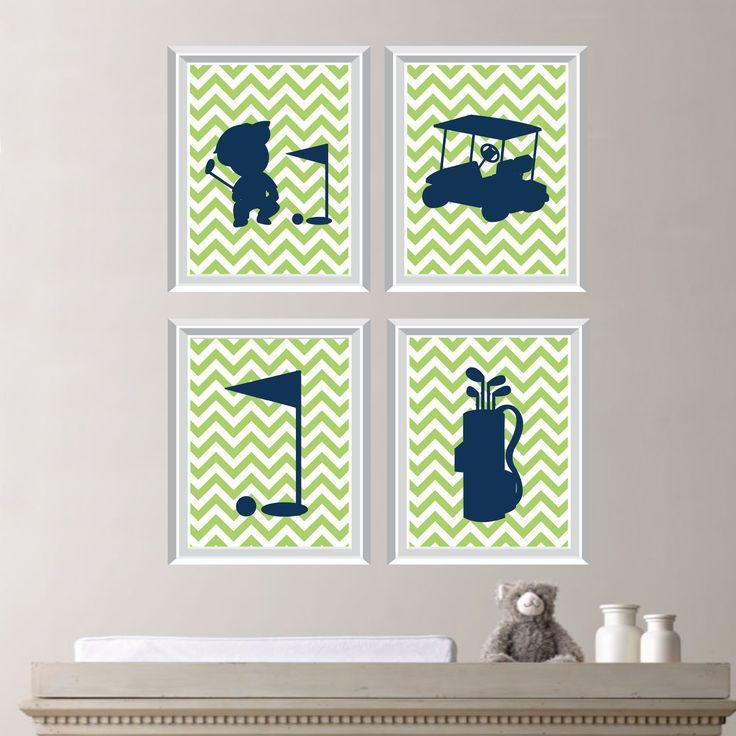 Baby Boy Nursery Art   Golf Nursery   Golf Bedroom   Golf Nursery Decor    Golf. Best 25  Golf nursery ideas on Pinterest   Golf decorations  Golf