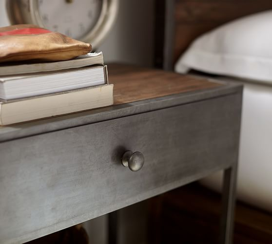 Big Daddy's Antiques Bedside Table #potterybarn