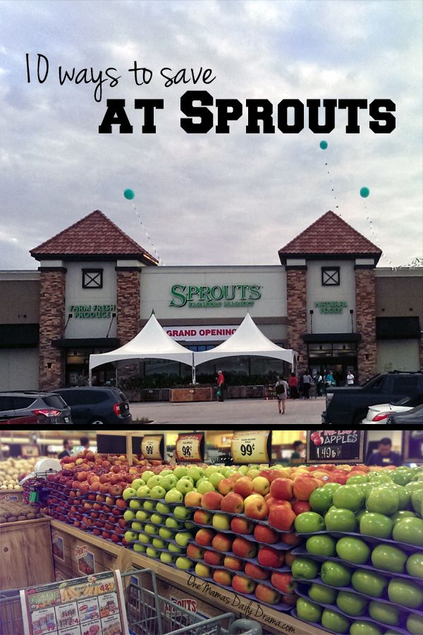 10 ways to save at Sprouts | One Mama's Daily Drama --- Awesome tips for saving money on groceries at Sprouts Farmers Market + a $25 gift card giveaway through 7/31/15