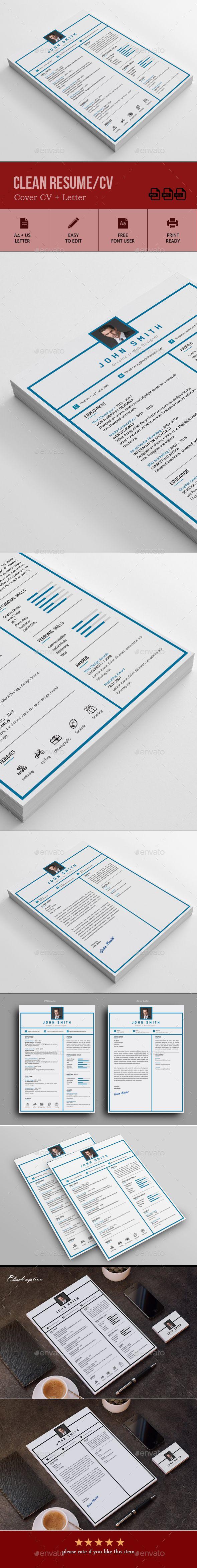 390 besten • Resume, Invoice, Proposal Designs, Etc. Bilder auf ...