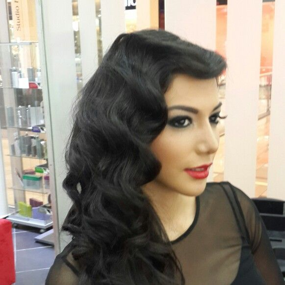 #vintage #wave #ondas #retro #hair #cabello #beauty