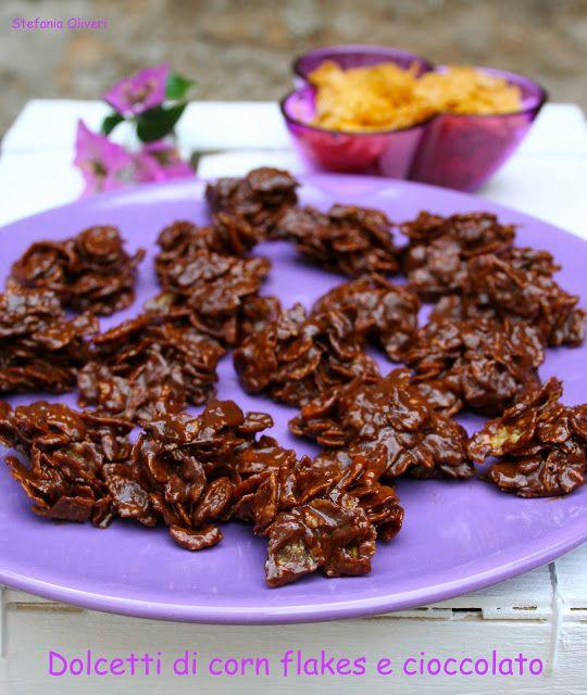 Cardamomo: Dolcetti di Corn Flakes e Cioccolato facili, buoni e veloci... insomma una porca figura... e non solo loro!