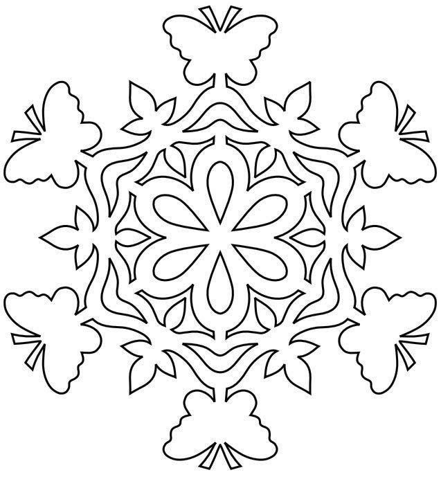 Картинки, шаблоны на нг снежинки