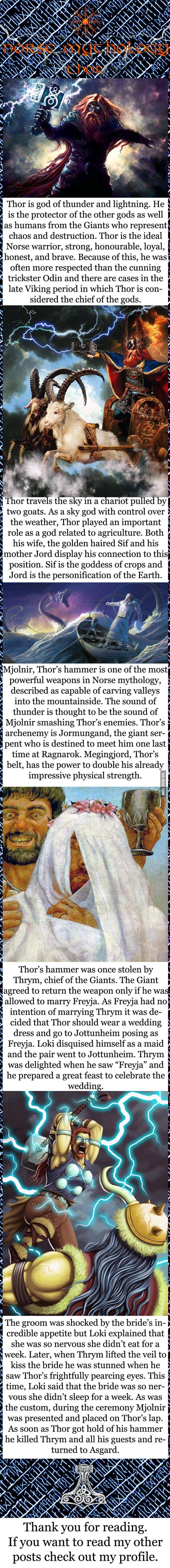 Norse mythology - Thor