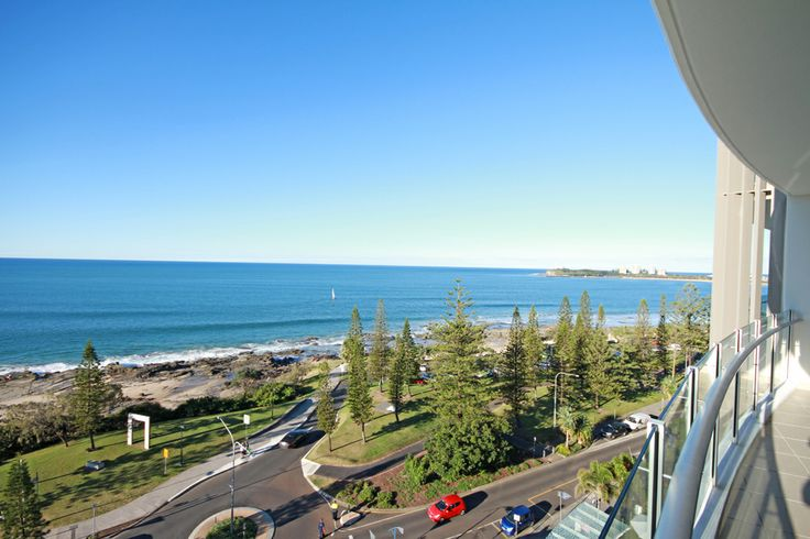 Fantastic views over Mooloolaba Beach