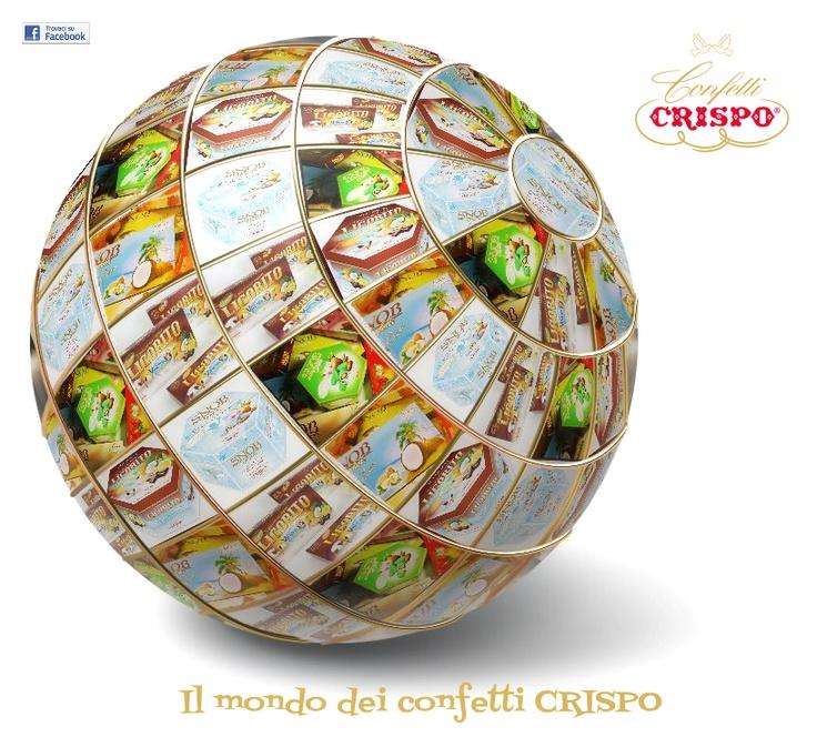 the world of confetti CRISPO