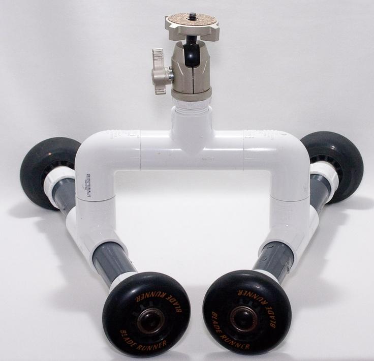 DIY PVC Table/Skater Dolly | Diy camera slider, Camera ...