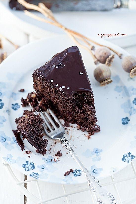Makowiec czekoladowy
