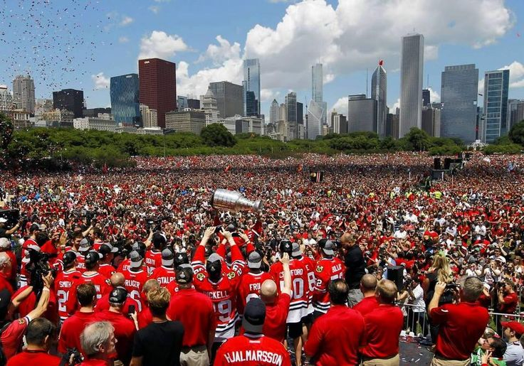 Stanley Cup Parade 2013-Chicago Blackhawks
