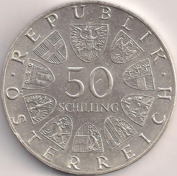 Wertseite: Münze-Europa-Mitteleuropa-Österreich-Schilling-50.00-1978-Franz Schubert