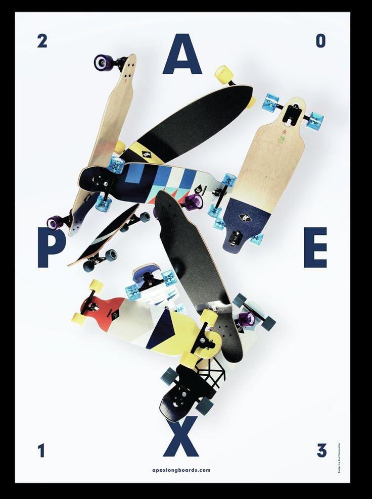 Axel Peemöller's Identity for Apex Longboards