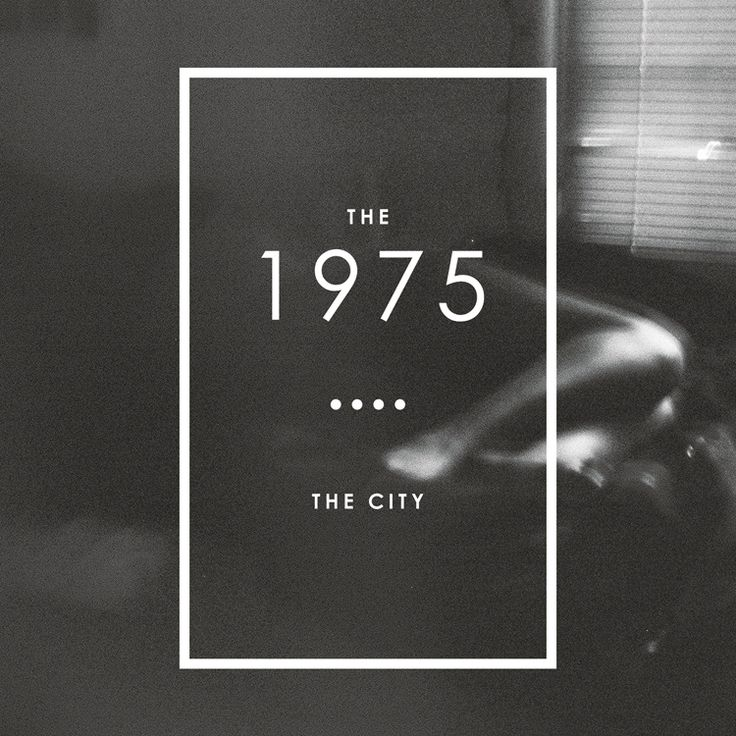 The 1975. I love them so much.  i cant stop listening!