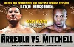 The most awaited live boxing event, the Seth Mitchell Vs Chris Arreola bout live at the Fantasy Springs Casino, Indio, California, USA. The said Mitchell Vs Arreola bout is for WBC International heavyweight title. The Mitchell Vs Arreola live stream will be held by Showtime for live TV telecast.