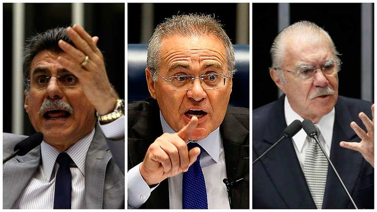Renan, Jucá e Sarney respondem a um inquérito no qual são acusados pela Procuradoria-Geral da República (PGR) do crime de embaraço à Lava Jato, por tentarem barrar ou atrapalhar as investigações da operação