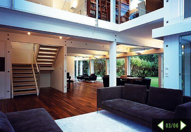Huff House - interior