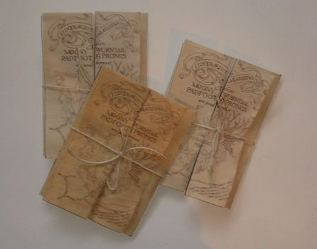 Marauders Map DIY