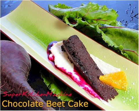 Thermomix Chocolate Beet Cake Recipe
