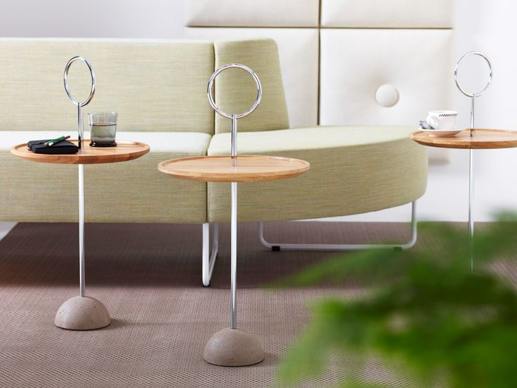 Lollipop sofa table design Malin Lundmark