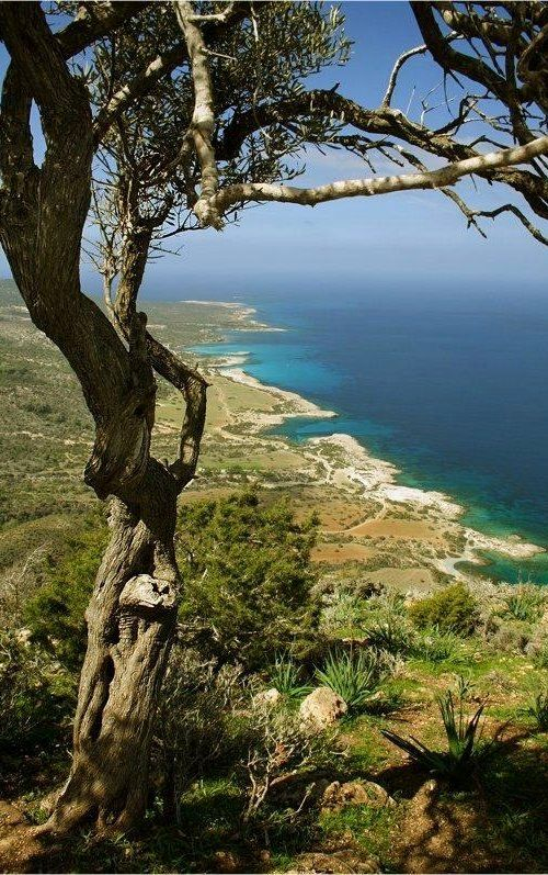 The Akamas National Park, Cyprus