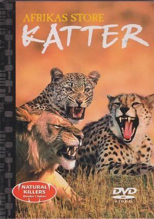"""""""Afrikas store katter m/DVD - Nature Killers - Rovdyr i fokus 2"""""""