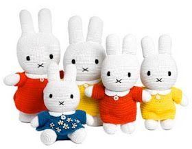 Nijntje haakpatroon - Miffy crochetpattern