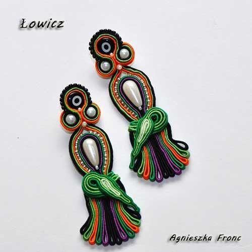 Kolczyki Łowicz - Kolczyki - Biżuteria srebrna
