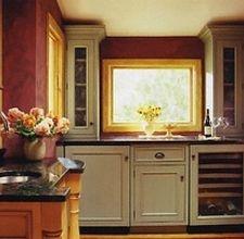 Paint laminate cabinets