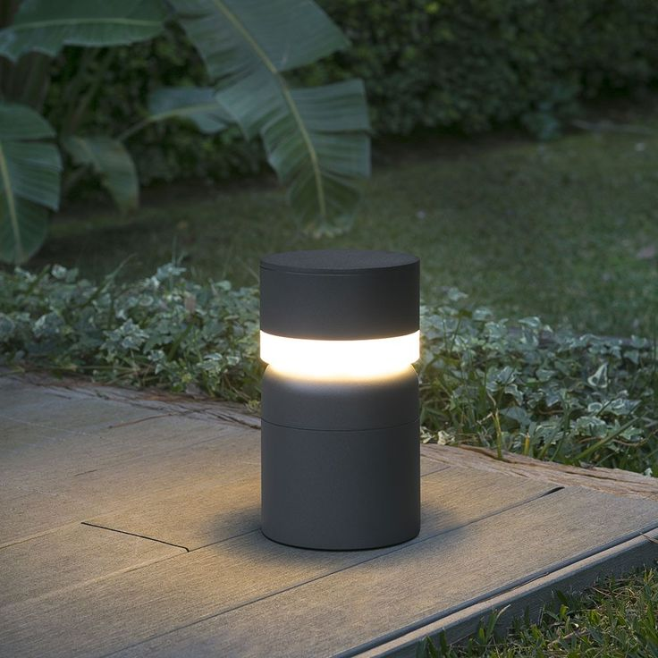 Bornes LED - Lampe Naya IP54 H50 cm - Anthracite Custom metal and - cube lumineux solaire exterieur