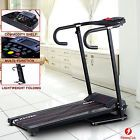 Treadmill Portable Folding Running Fitness Electric Multi-function Machine 500W