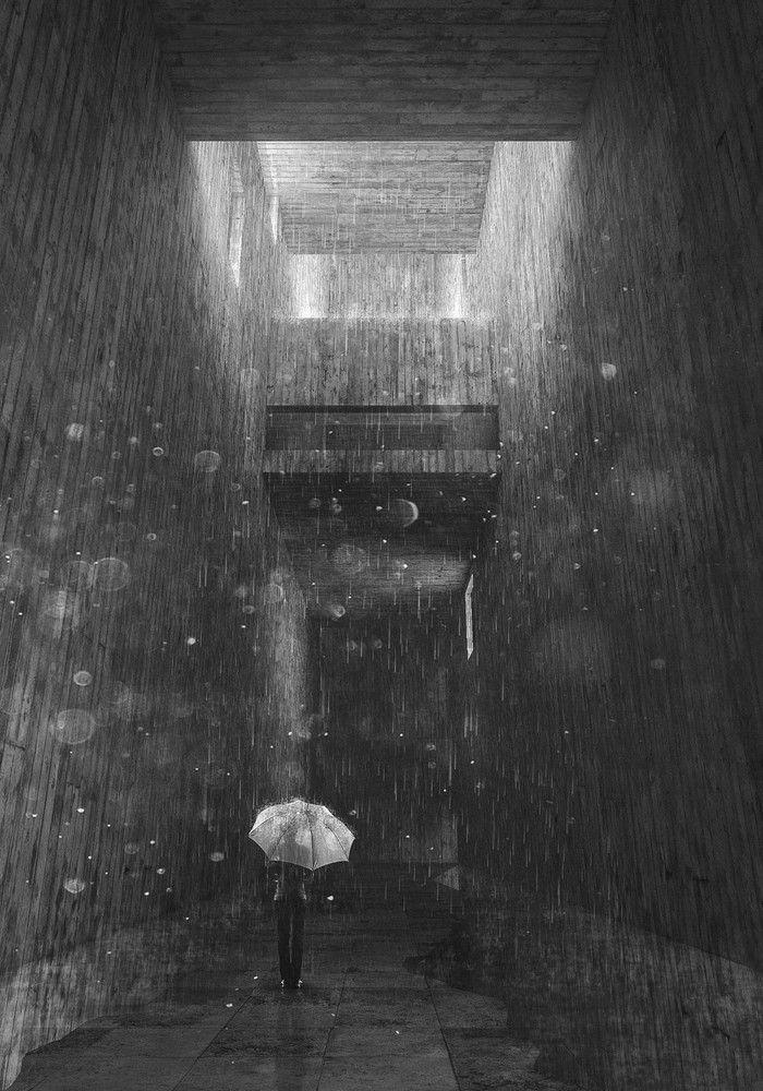 Memorial da Retirância, Pedro Giunti  Galeria de Os melhores trabalhos de conclusão de curso do Brasil e Portugal - 23  Memórias de uma travessia: Projeto para o Memorial da Retirância em São Paulo    arquitetura arquitectura architecture rendering visualizacao pb bw black and white atmosfera atmosphere memoria memory sao paulo sp brasil brazil brutalismo brutalism concreto concrete copan chuva rain rainning chovendo tfg tcc fauusp fau usp