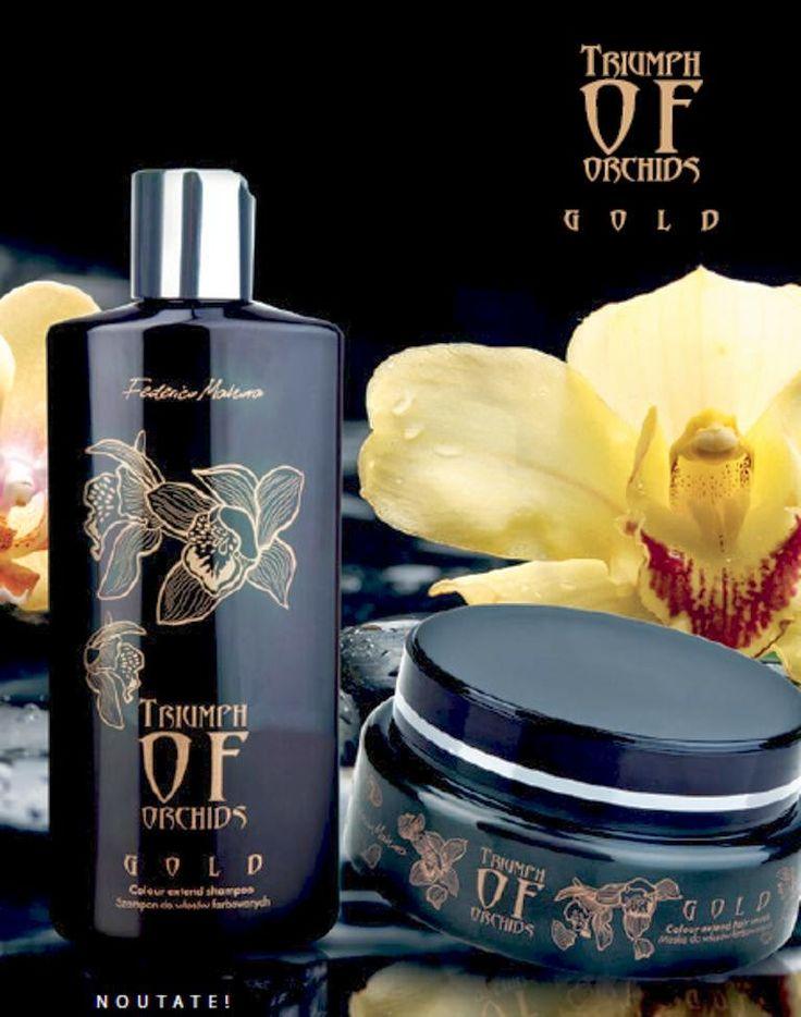 Afacerea FM Group: NOU - Colectia Triumph of Orchids GOLD