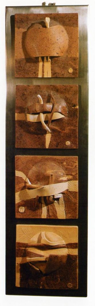 Nusret Algan 2002 15x15 cm