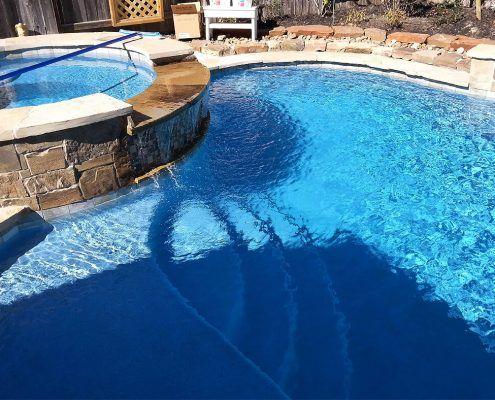 custom gunite swimming pool builders Conroe, TX 77304