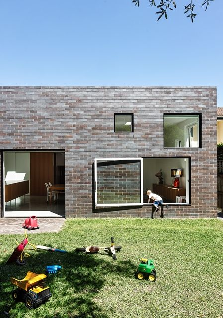 17 best images about best of residential brick on - Maison boone murray tribe studio architects ...