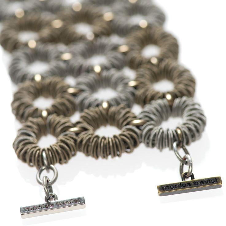 Monica Trevisi Jewels - #bracciale #braccialetto #bracelet Amio collection #jewels #jewlery #handmade #handcrafted #metal