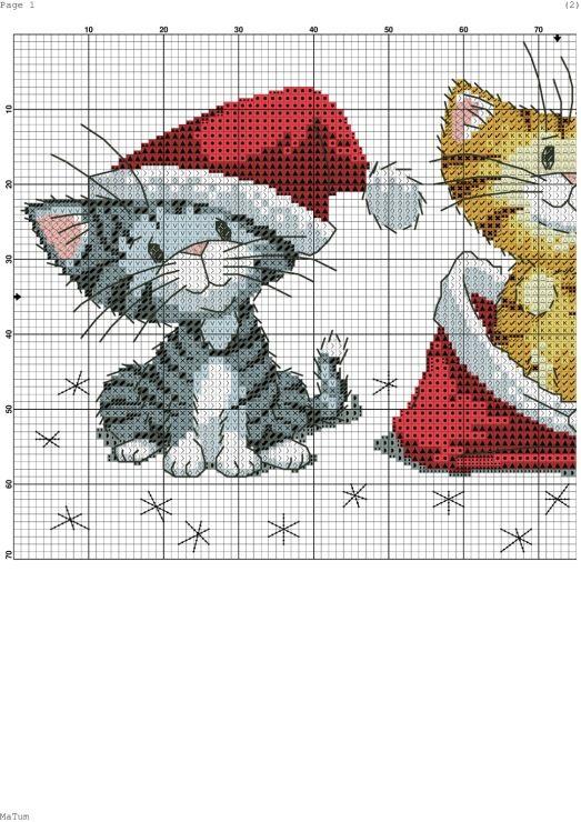 Gallery.ru / Фото #1 - Рождественские котята - Ulka1104