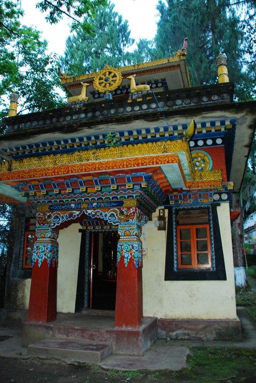 A monastery near the Coronation Throne at Yuksom, Sikkim