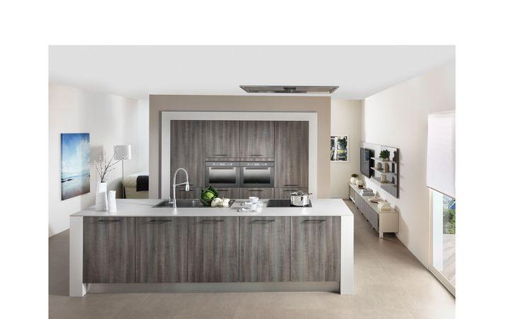 Kitchen design melamine arcos 2 chalet pinterest for Conception cuisine schmidt