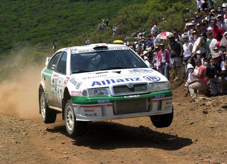 2001 Skoda Octavia WRC Image