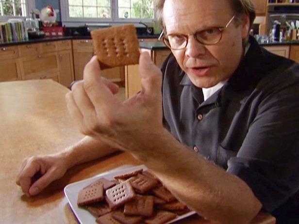 Recipe Alton Brown's graham crackers