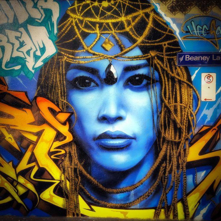 Navi Queen - Street Art in Melbourne | March 2017