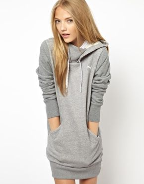 Puma+Hoodie+Dress.  Hoodie dress?  Yes please!